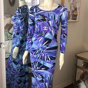 American Twist Patterned Dress